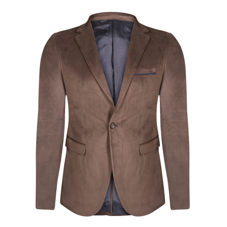 Harris Blazer Jacket // Brown (L) - WINTER CLEARANCE