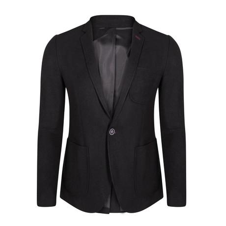 Nathanael Blazer Jacket // Black (XS)