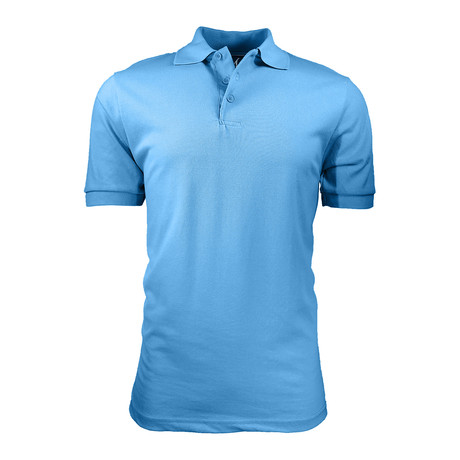Pique Polo // Light Blue (S)