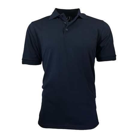 Pique Polo // Navy (S)