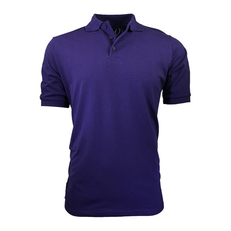 Pique Polo // Purple (S)