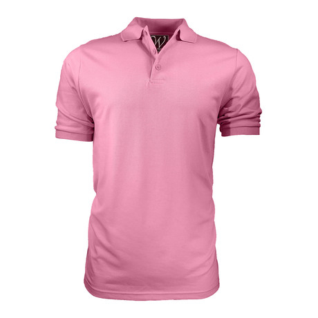 Pique Polo // Pink (S)