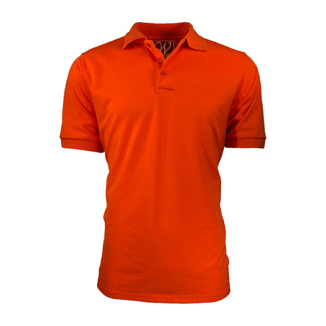 Pique Polo // Orange (S)
