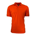 Pique Polo // Orange (L)