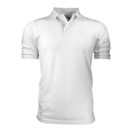 Pique Polo // White (S)