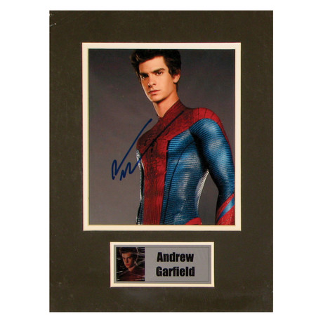 Andrew Garfield // Spiderman // Signed Photo
