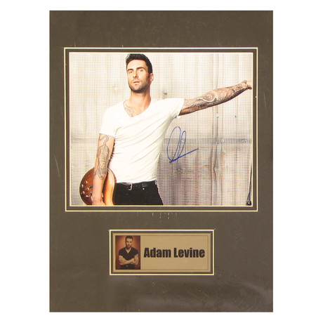 Adam Levine // Signed Photo