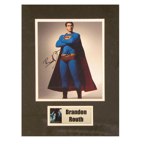 Brandon Routh // Superman // Signed Photo
