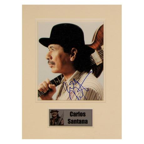 Carlos Santana // Signed Photo