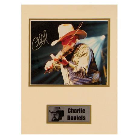 Charlie Daniels // Signed Photo