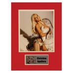 Christina Aguilera // Signed Photo