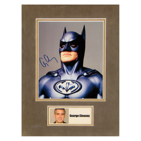 George Clooney // Batman // Signed Photo