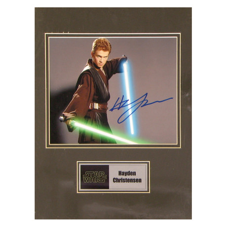 Hayden Christensen // Anakin Skywalker // Signed Photo