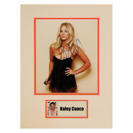Kaley Cuoco // Big Bang Theory // Signed Photo