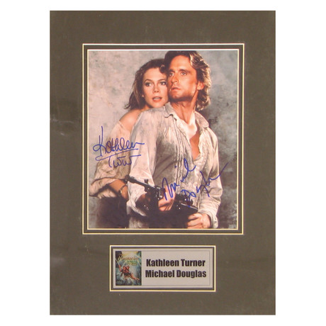 Kathleen Turner // Romancing The Stone // Signed Photo