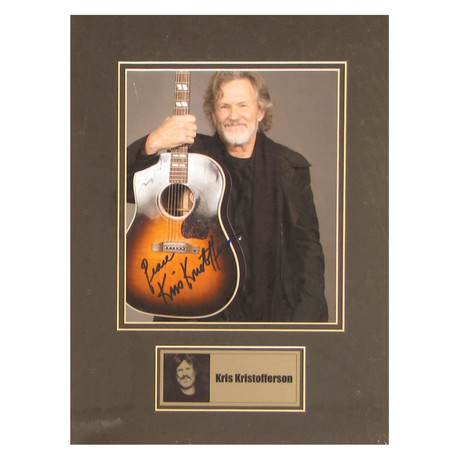 Kris Kristofferson // Signed Photo