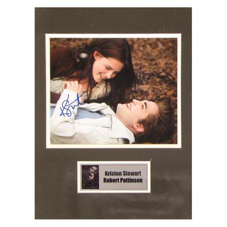 Kristen Stewart + Robert Pattinson // Twilight // Signed Photo