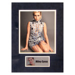 Miley Cyrus // Signed Photo