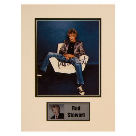 Rod Stewart // Signed Photo
