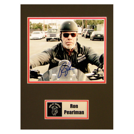 Ron Perlman // Sons Of Anarchy // Signed Photo