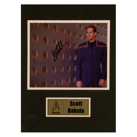 Scott Bakula // Star Trek: Enterprise // Signed Photo
