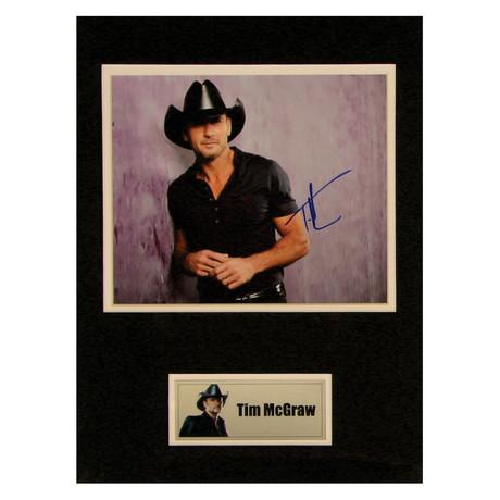 Tim McGraw // Signed Photo
