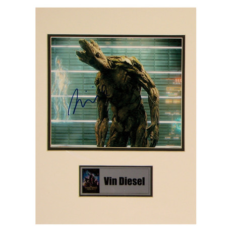 Vin Diesel // Groot // Signed Photo
