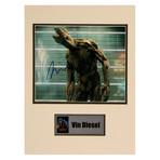 Vin Diesel // Groot // Signed Photo