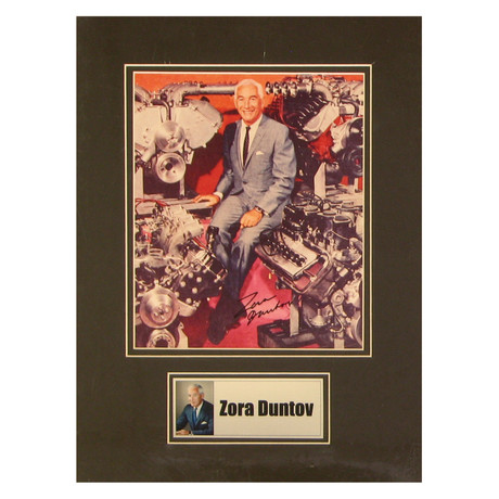 Zora Duntov // Signed Photo