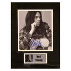 Neil Young // Signed Photo