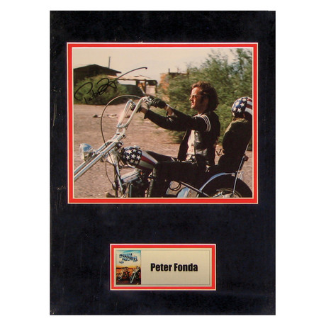 Peter Fonda // Easy Rider // Signed Photo