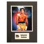 Sylvester Stallone // Signed Photo