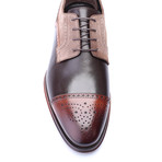 Pace Cap Toe Derby // Tobacco + Brown (Euro: 46)