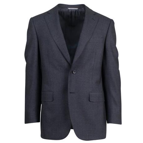 Canali // Cashmere Blend Trim Fit Suit // Gray (US: 46S)