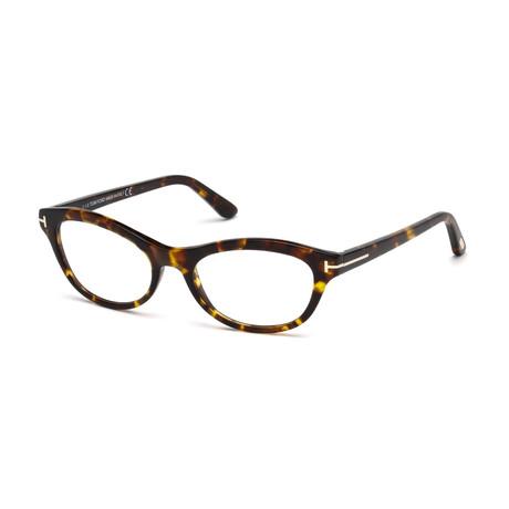 Oval Optical Frames // Dark Tortoise