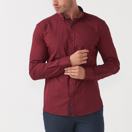 Paul Shirt // Claret Red (S)