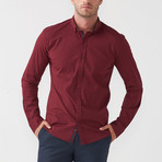 Paul Shirt // Claret Red (S)