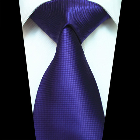 Silk Neck Tie // Solid Purple