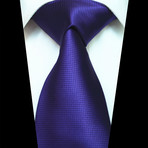Silk Neck Tie // Solid Purple