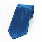 Silk Neck Tie + Gift Box // Metallic Blue