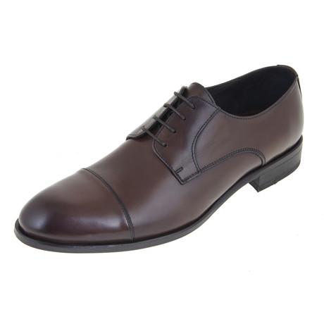 Derby Shoe // Brown // CS0124 (Euro: 40)