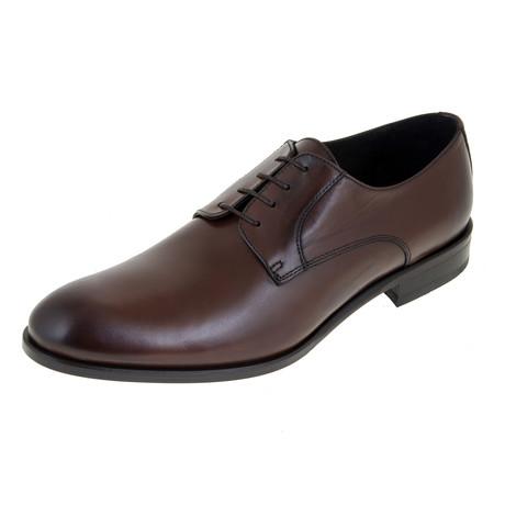 Derby Shoe // Brown // CS0126 (Euro: 40)