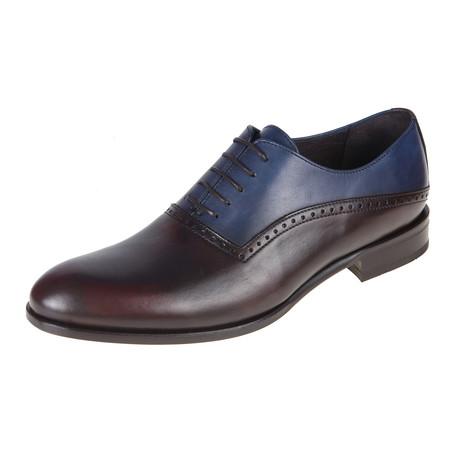 Oxford Shoe // Brown-Jeans // CS0128 (Euro: 40)