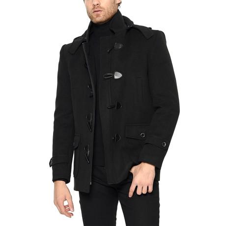 PLT8310 Overcoat // Black (M)