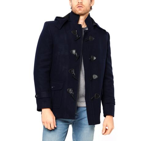 PLT8310 Overcoat // Dark Blue (M)