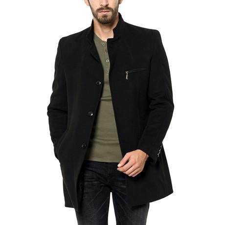 PLT8322 Overcoat // Black (M)