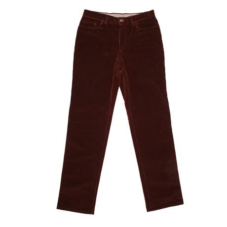 Corduroy Jean Style Pants // Reddish Brown (Euro: 46)