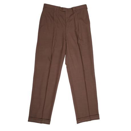 Wool Dress Pants // Brown (28)