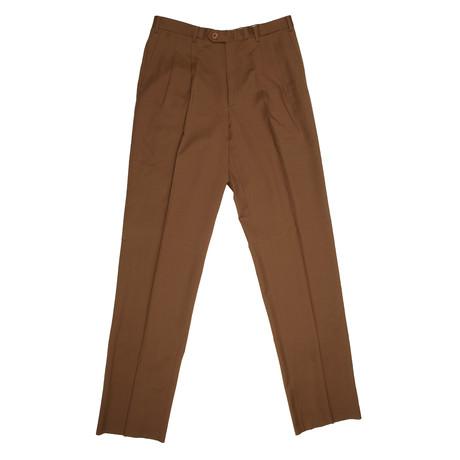 Super 140s Wool Dress Pants // Brown (28)