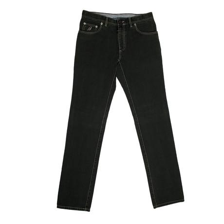 5 Pocket Denim Jean Pants // Green (28)